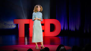 Cleo Wade presenting at TED