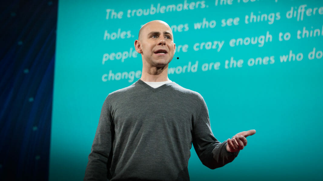 Adam Grant speaks at TED2016