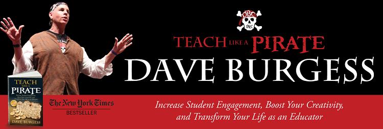 teach like a pirate banner