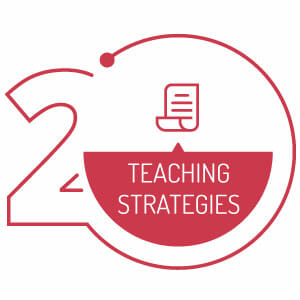 Logo for Step 2 of Online Teaching